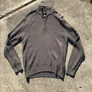 Vintage Calvin Klein quarter zip fleece sweater